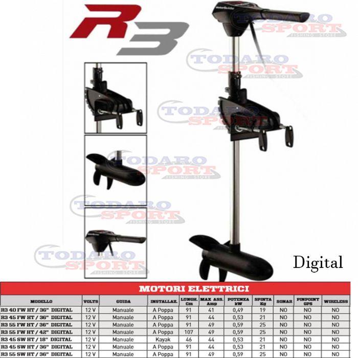 Motor Guide R3 Digital R3 40 Fw Ht 36 Digital Su