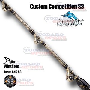 Custom rod competition s3 stand-up winthrop