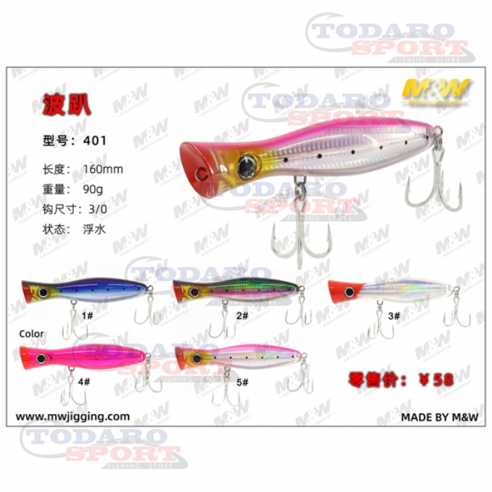 M&w international popper (401)