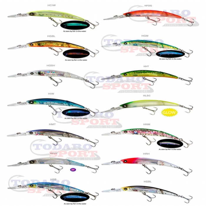 Yo zuri crystal minnows 3d minnow jointed floating